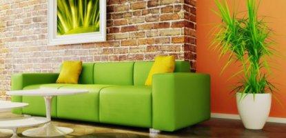 Как правилно да комбинирате цветовете на мебелите и стените?