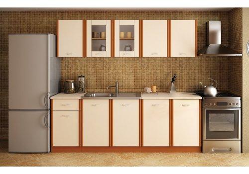 Кухненска конфигурация Мика - Чери и крем - Кухненски комплекти