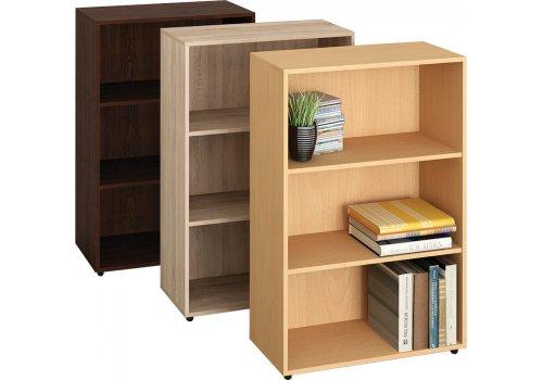 Етажерка Лина 3 - Дъб сонома - Етажерки и библиотеки