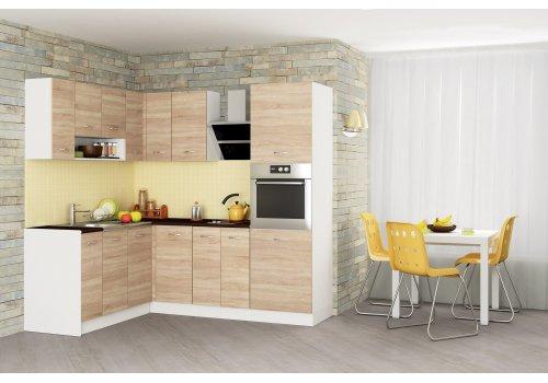Кухненска конфигурация Алис 21 - Дъб сонома - Кухненски комплекти