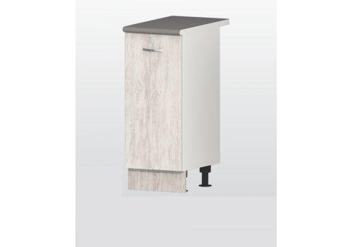 Долен модул Хавана - дъб бланко В5 шкаф с врата и рафт - Разпродажба