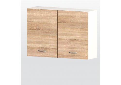 РАЗПРОДАЖБА - Горен модул Алис G28 шкаф с две врати и рафт - Разпродажба
