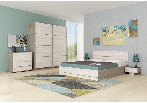 Спален комплект Камо 2 с ВКЛЮЧЕН МАТРАК - Спални комплекти с матраци