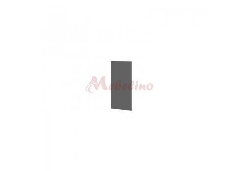 Горен модул Ф 06-19 краен панел - Цимент мат - Мебели-Ирим