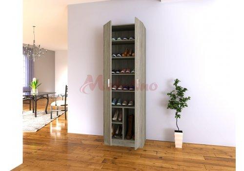 Шкаф за обувки Сити 4036 с плавно затваряне на вратите - Шкафове за обувки