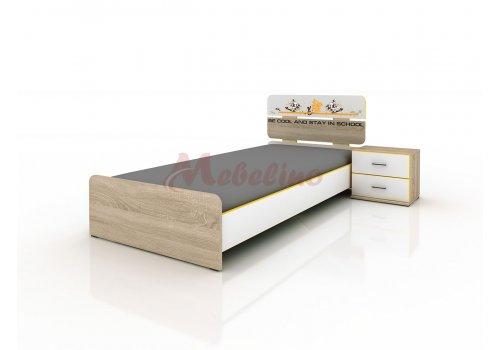 Легло Сити 2013 с вкл. нощно шкафче - Разпродажба