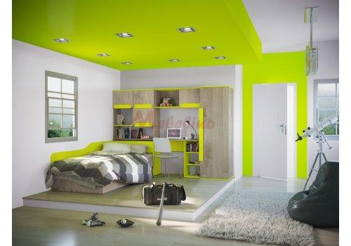 Детско обзавеждане Сити 5017 - Детски спални комплекти