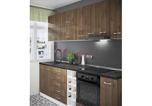 Модулна кухня Сити 870 с цял термоплот - Кухненски комплекти