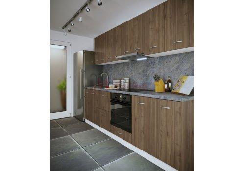 Модулна кухня Сити 875 с цял термоплот - Кухненски комплекти