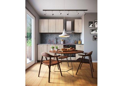 Модулна кухня Сити 879 с цял термоплот - Кухненски комплекти