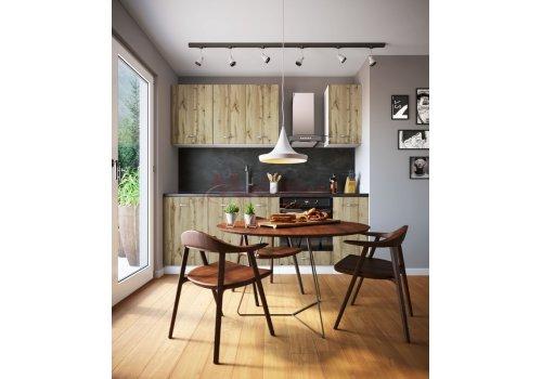 Модулна кухня Сити 880 с цял термоплот - Кухненски комплекти