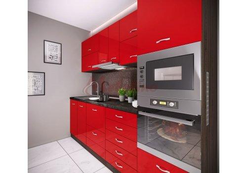Модулна кухня Сити 881 с цял термоплот - Кухненски комплекти