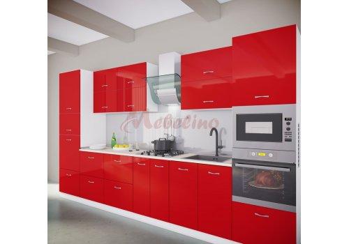 Модулна кухня Сити 882 с цял термоплот - Кухненски комплекти