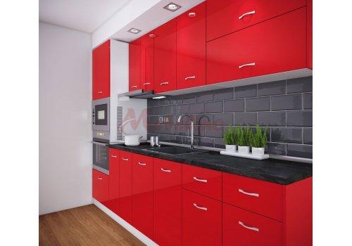 Модулна кухня Сити 883 с цял термоплот - Кухненски комплекти