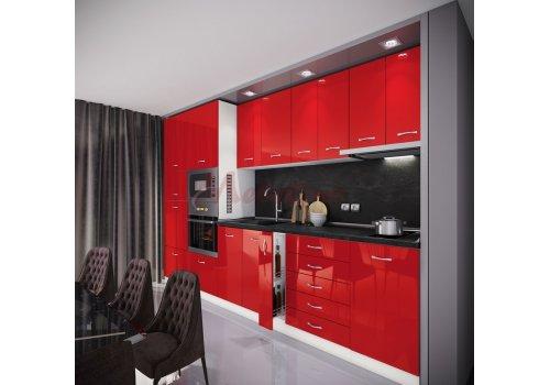 Модулна кухня Сити 885 с цял термоплот - Кухненски комплекти
