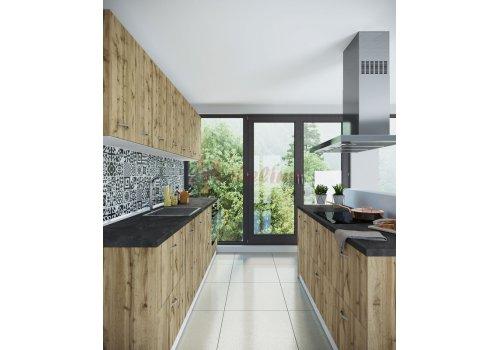 Модулна кухня Сити 919 с цели термоплотове - Кухненски комплекти