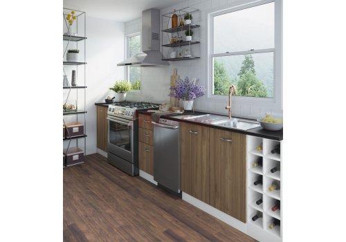 Модулна кухня Сити 921 с цели термоплотове - Кухненски комплекти