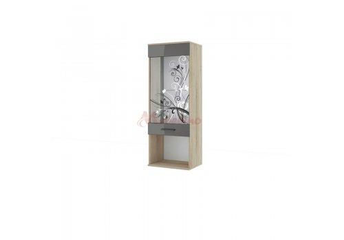 Витрина Беста 79 с принт стъкло - Витрини