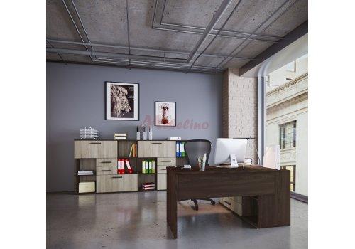 Офис обзавеждане Сити 9027 - Пълно офис обзавеждане