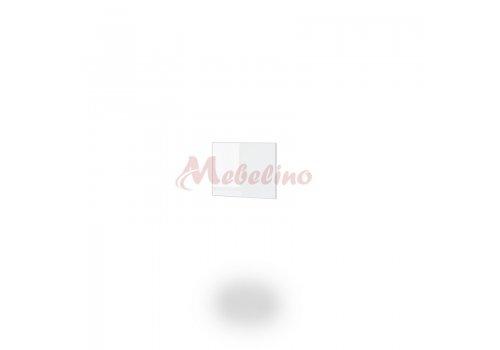 Краен панел за надстройка Dress - Бял гланц - Мебели-Ирим