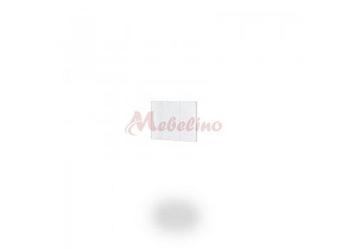 Краен панел за надстройка Dress - Бяло фладер - Мебели-Ирим