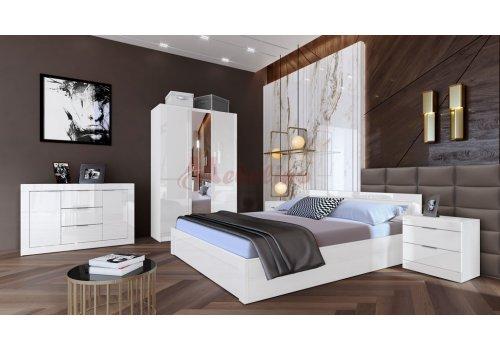 Спален комплект Сити 7046 с ВКЛЮЧЕН МАТРАК  - Спални комплекти с матраци