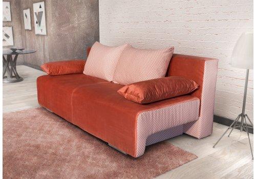 Триместен диван Джорджия - Оранжев - Промо предложения