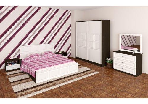Спален комплект Гала със скрин, огледало и повдигащ механизъм - Спалня