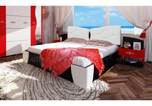 Легло Амор с 2 нощни шкафчета - Спалня