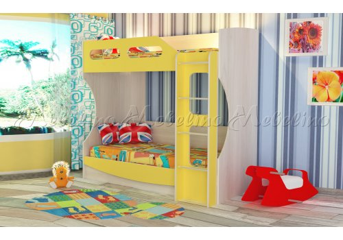 Детско двуетажно легло - Мостра - Детски легла