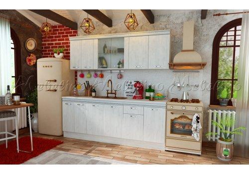 Модулна кухня Тоскана 1 с декоративен профил - Кухненски комплекти