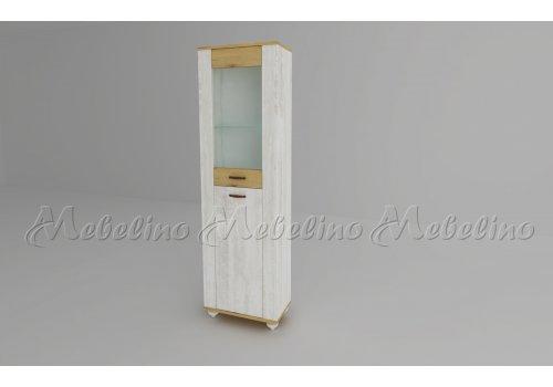 Висок шкаф Модена - модул 1 - Модулни системи за дневна