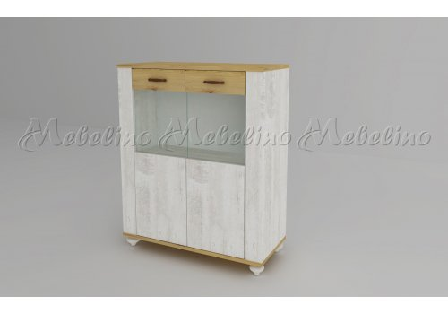Нисък шкаф Модена - модул 4 - Модулни системи за дневна