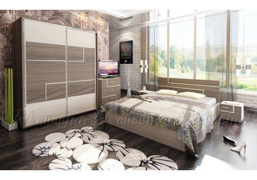 Спален комплект Торино с  ВКЛЮЧЕН МАТРАК и повдигащ механизъм - Спални комплекти с матраци