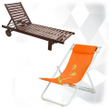 Шезлонги и плажни столове